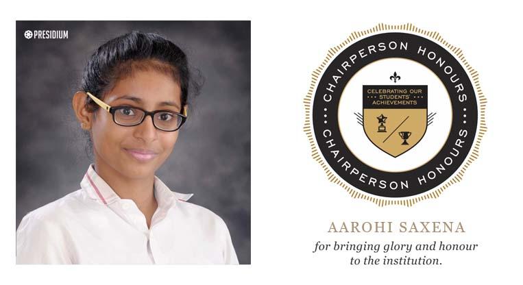 Aarohi Saxena