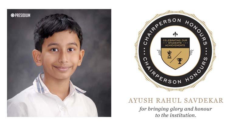 Ayush Rahul Savdekar