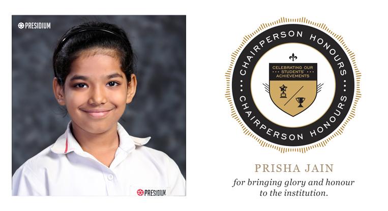 PRISHA JAIN