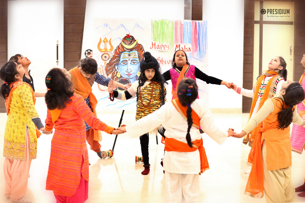 SPIRITUAL AMBIANCE DAWNS AT PRESIDIUM WITH ETHOS OF MAHASHIVRATRI