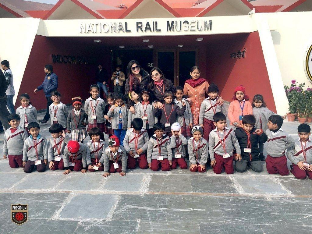 LEARNING, AMUSEMENT & ADVENTURE- PRESIDIANS EXPERIENCE IT ALL AT NATIONAL RAIL MUSEUM