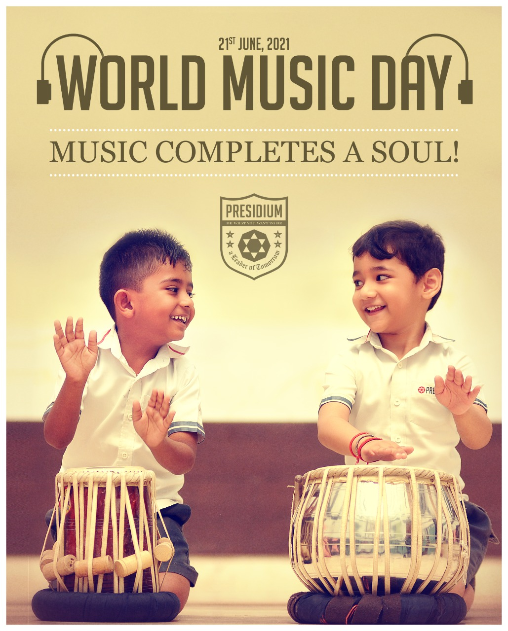 PRESIDIANS UNITE TO WISH ALL A HAPPY WORLD MUSIC DAY!