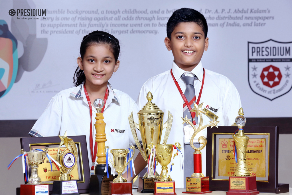 PRESIDIUM IS PROUD OF YOUNG CHESS PLAYERS 2019