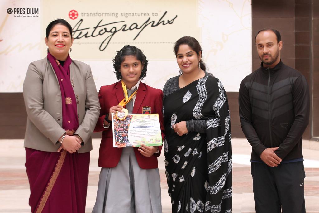 AKHIL BHARTI SPORTS GAMES 2018: ANEISHA DAS WINS 2 GOLD MEDALS