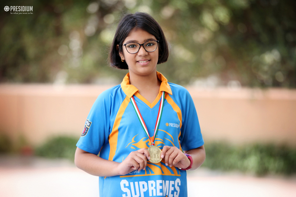 TANISHKA CREATES HISTORY AT THE INTERNATIONAL ENGLISH OLYMPIAD'18