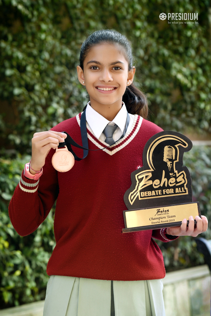 Behas Achievement - Ipshita Joshi - 05th Feb 2020