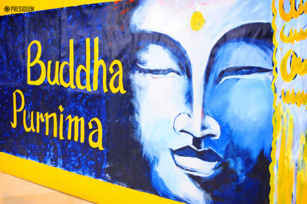 PRESIDIANS COMMEMORATE BUDDHA'S MIGHT & WISDOM ON BUDDHA PURNIMA