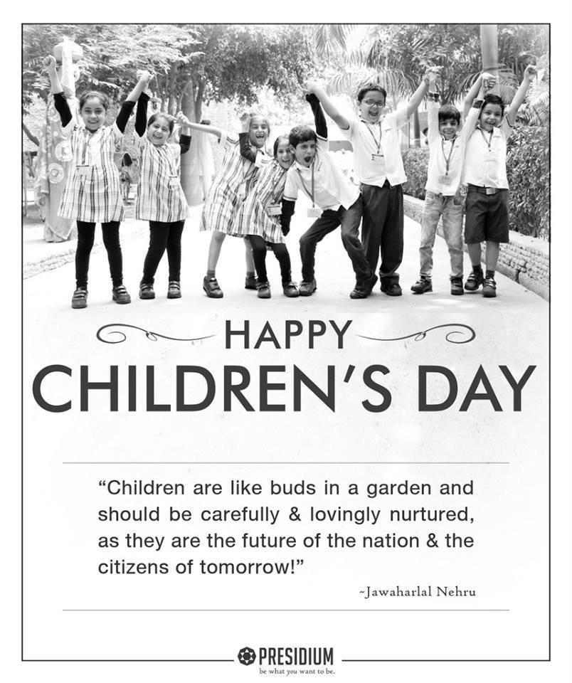 Memorable Children's Day at Presidium