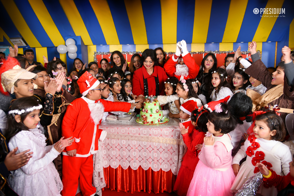 SUDHA MA'AM ADDS TO CHRISTMAS MEMORIES WITH HER BENIGN PRESENCE