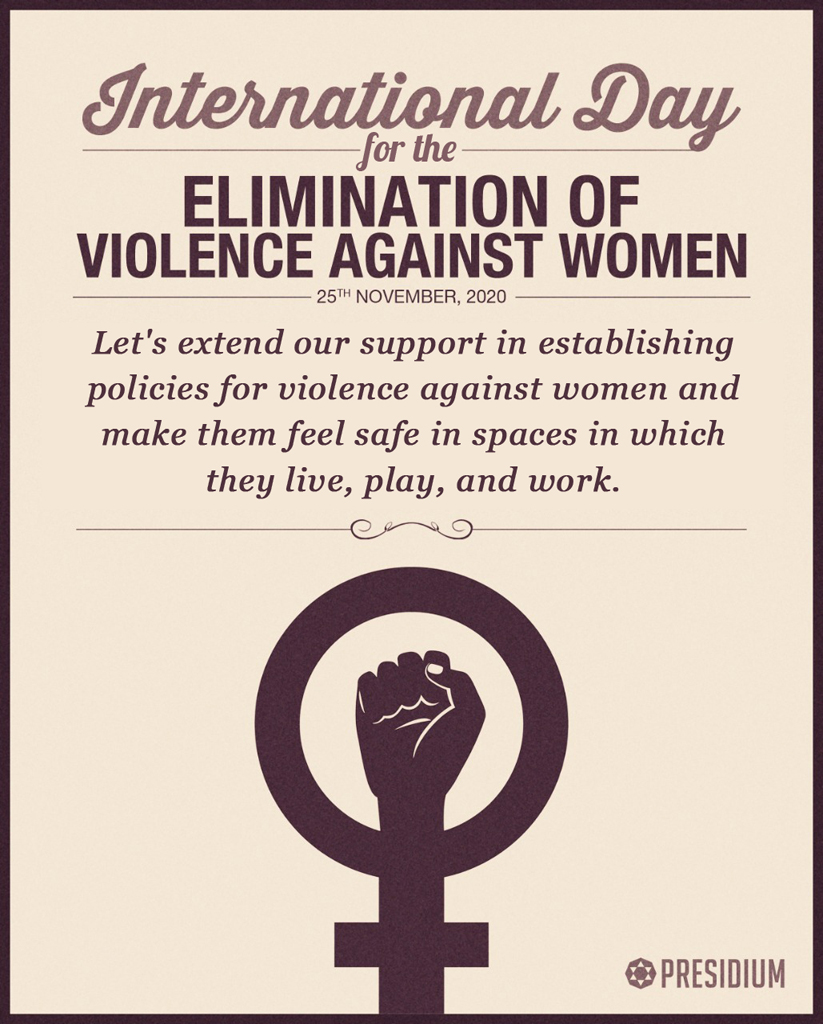 LET'S JOIN HANDS TO STOP ALL KINDS OF VIOLENCE AGAINST WOMEN
