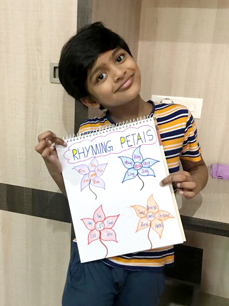 Theme: Playing with Rhyming Words (Grade 1) 2020
