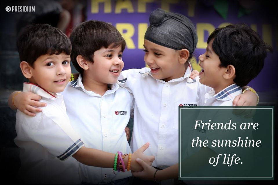 EMBRACING EVERLASTING BONDS ON FRIENDSHIP DAY!
