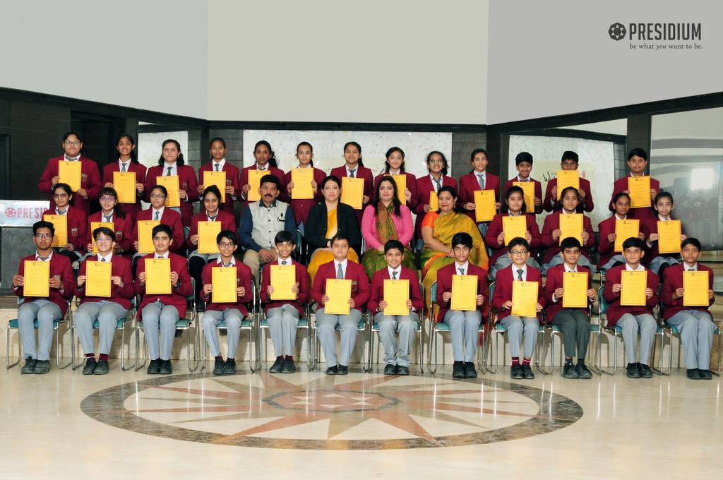 Group Song (Itihas Anveshan) Achievement National Level