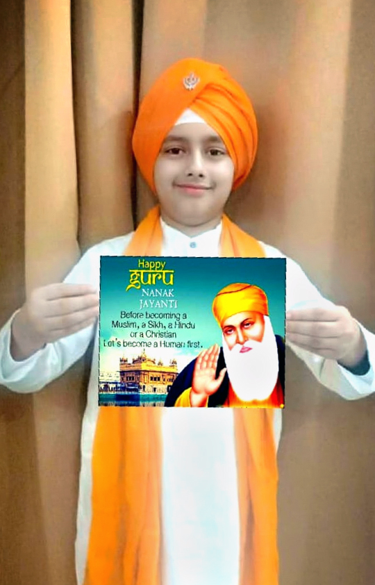 PRESIDIANS PROPAGATE PEACE AND HARMONY ON GURU NANAK JAYANTI