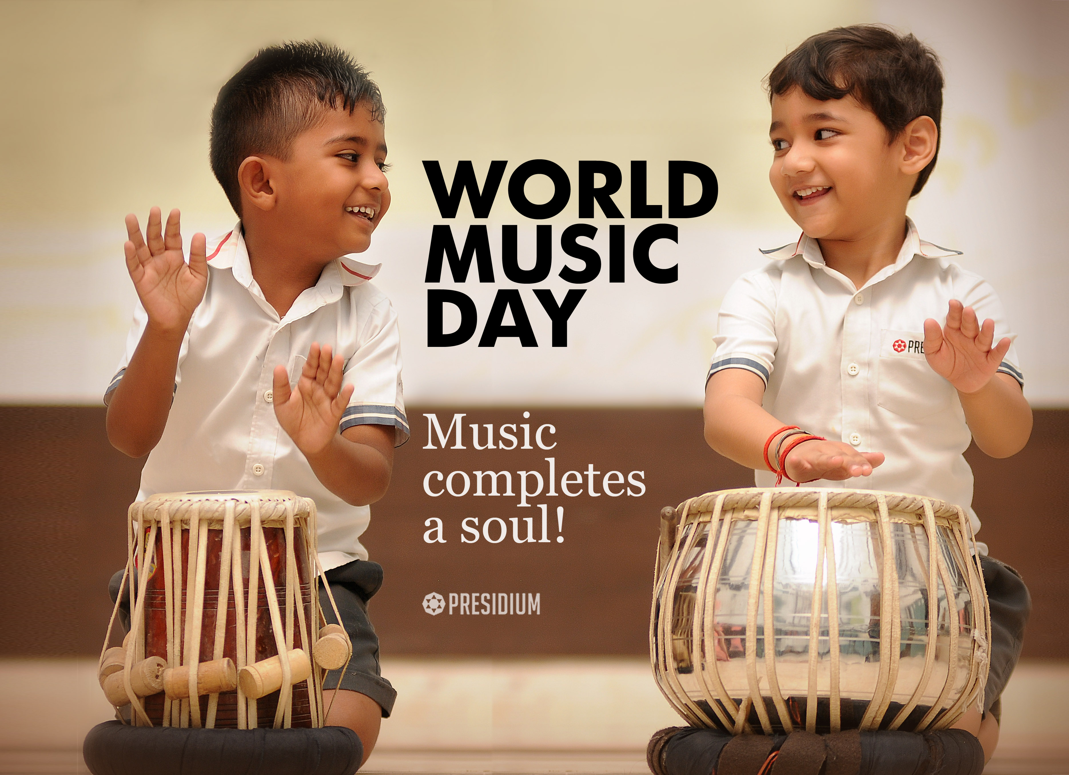 HAPPY WORLD MUSIC DAY: TIME TO LISTEN TO THE RHYTHM OF THE HEART