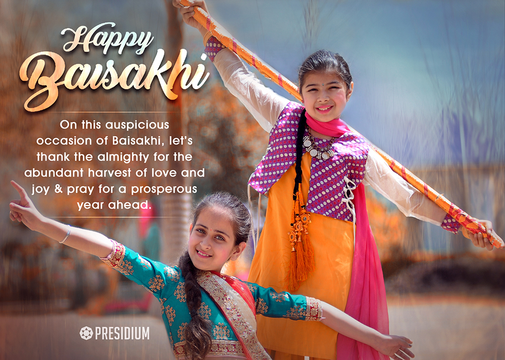 MAY THIS BAISAKHI BRINGS YOU JOY, HAPPINESS & PROSPERITY!