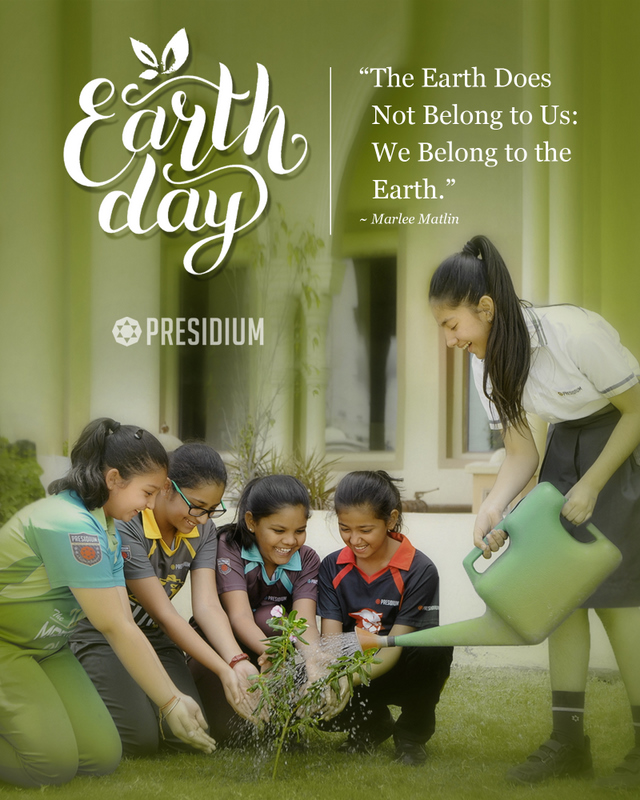 THIS EARTH DAY, LET'S PRACTICE ENVIRONMENTAL SUSTAINABILITY