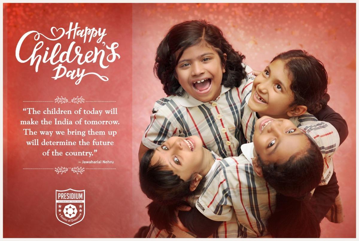 CHILDREN'S DAY:LET'S CHERISH THE BUOYANT FREE SPIRIT OF CHILDHOOD