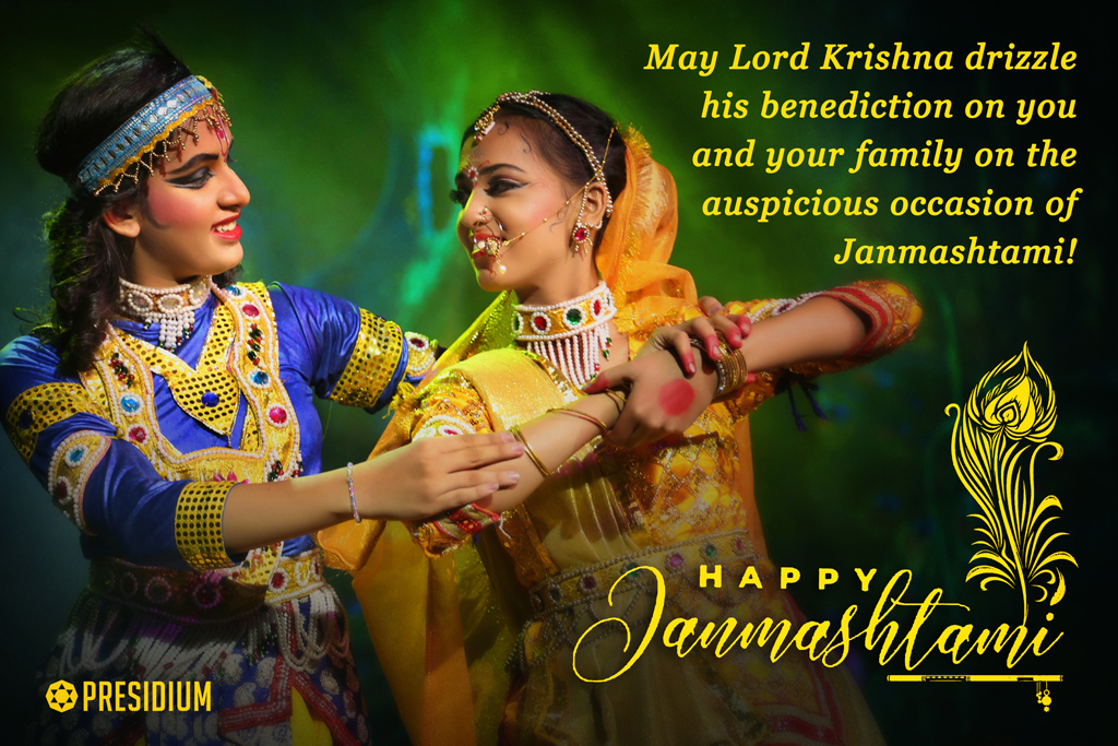 PRESIDIANS INVOKE THE BLESSINGS OF LORD KRISHNA ON JANMASHTAMI