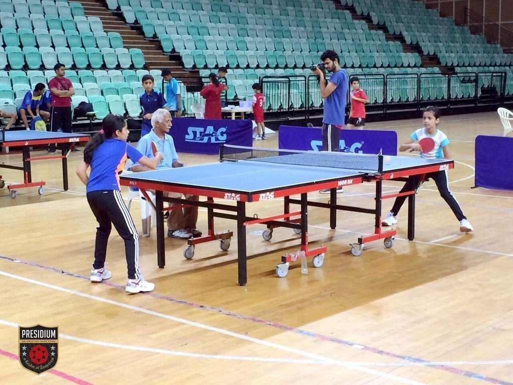 Presidians Smashed Their Way to Victory At Inter School Table Tennis Tournament!