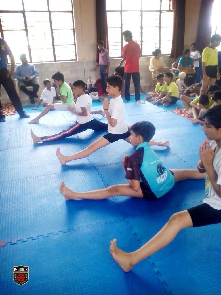 Presidians Shine Bright At Delhi First Yoga Championship