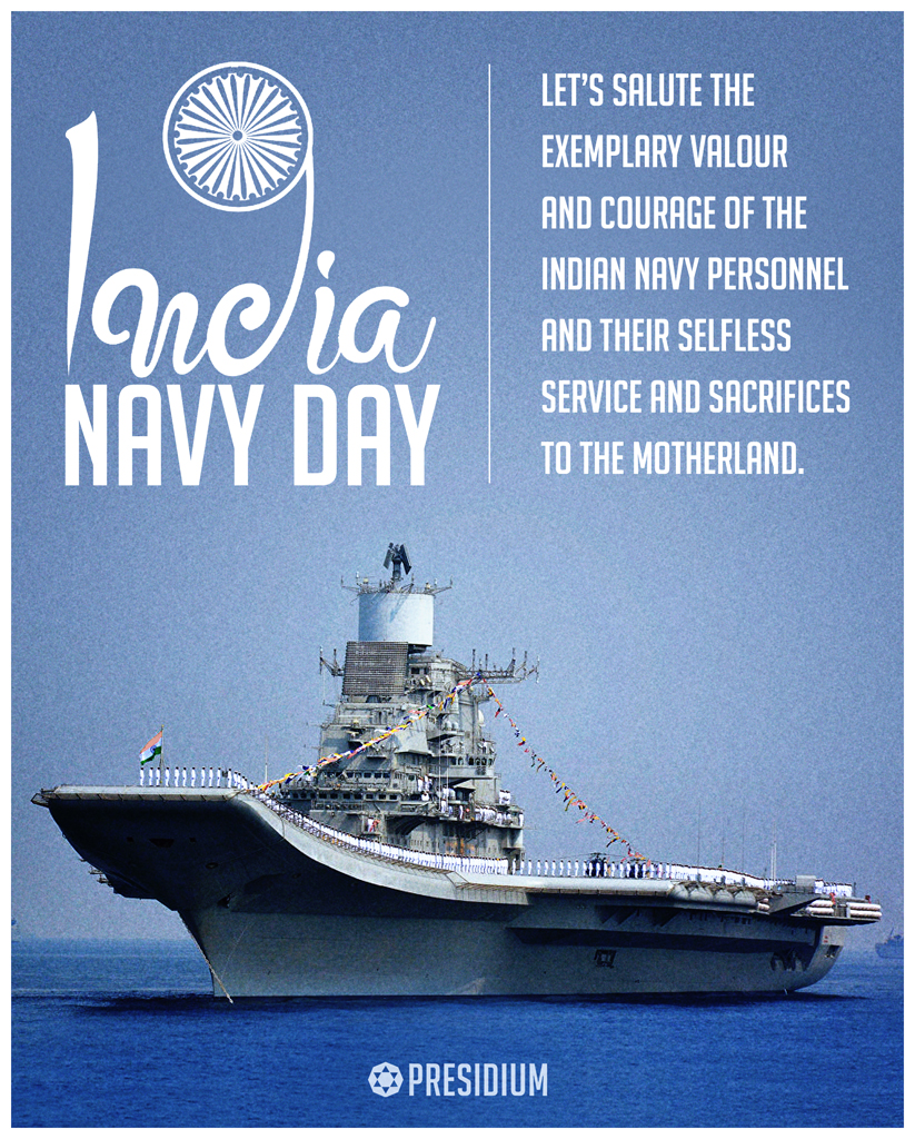 INDIAN NAVY DAY: THANK YOU WARRIORS FOR ALWAYS SAFEGUARDING US!