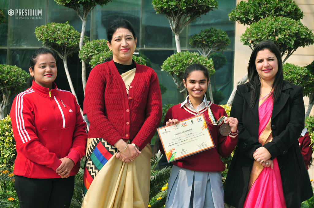 IP Achievement: (Nitya Jain) Khelo india - Gymnastic Achievement
