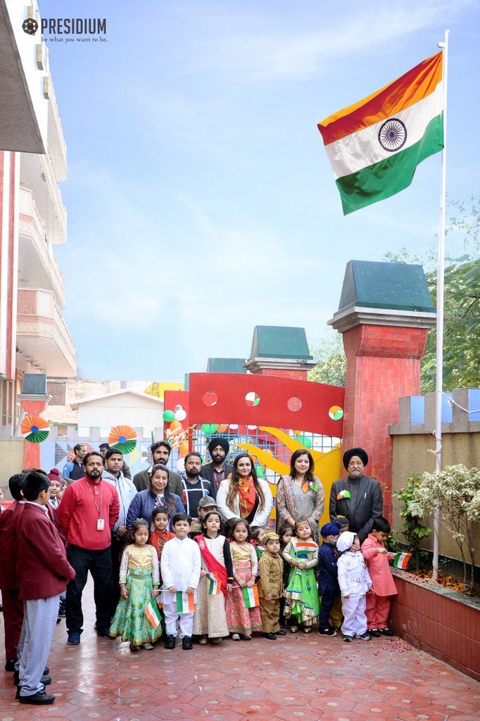 REPUBLIC DAY: PRESIDIANS PAY HOMAGE TO THE FREEDOM FIGHTERS