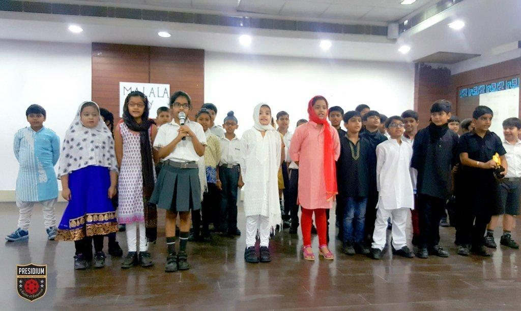 WORLD MALALA DAY OBSERVED AT PRESIDIUM