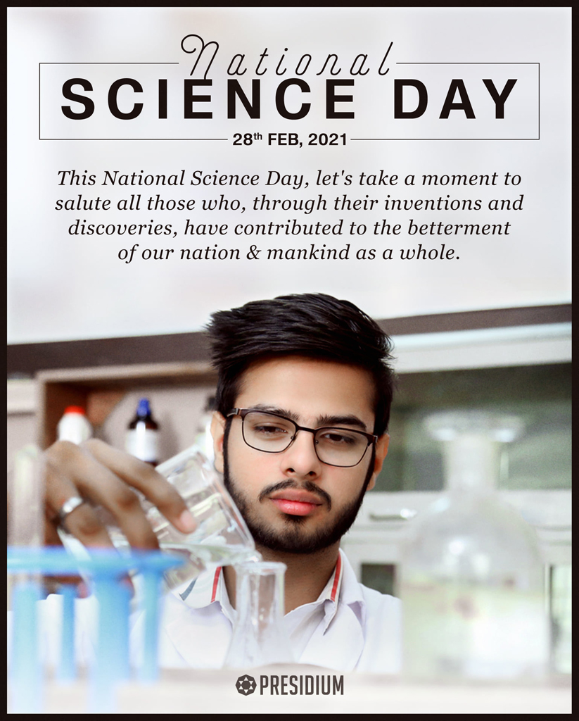 NATIONAL SCIENCE DAY: SCIENCE FOR PEOPLE & PEOPLE FOR SCIENCE