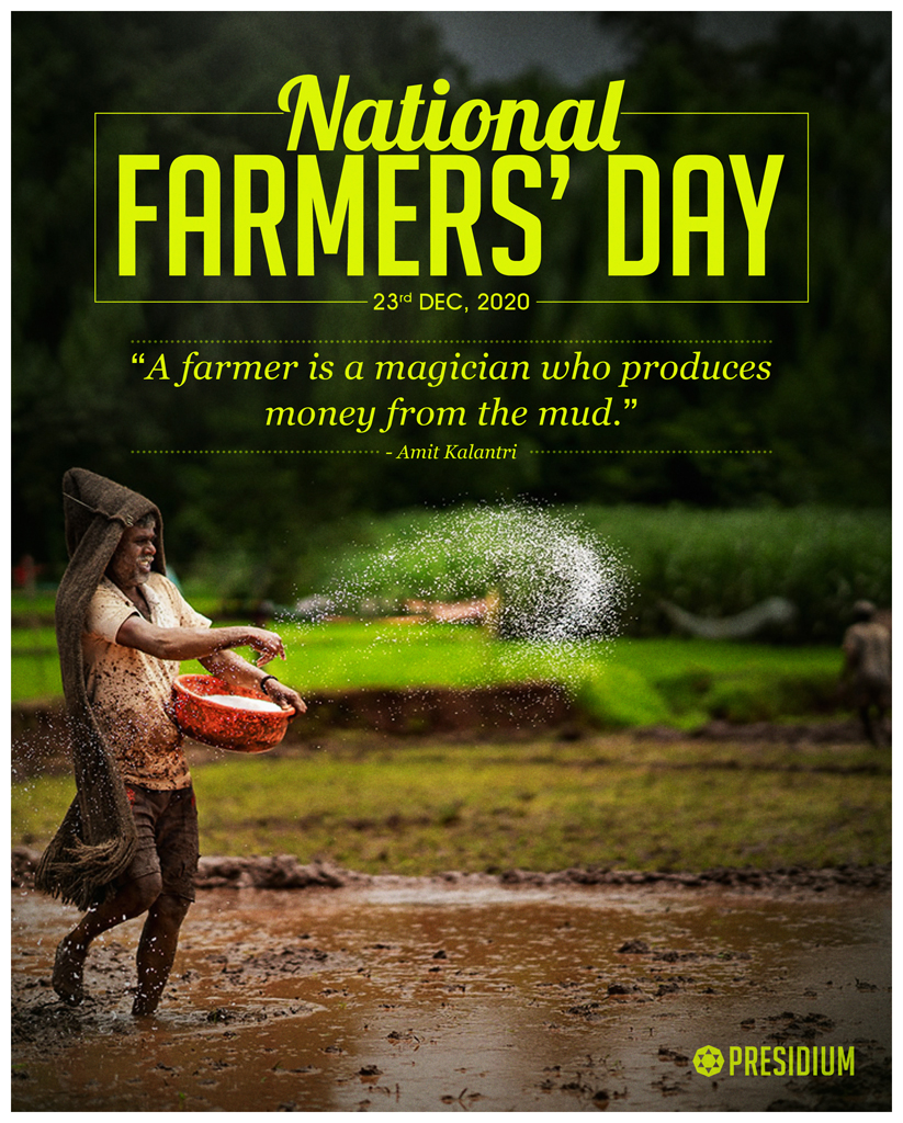 NATIONAL FARMERS' DAY: SALUTING THE BACKBONE OF OUR COUNTRY