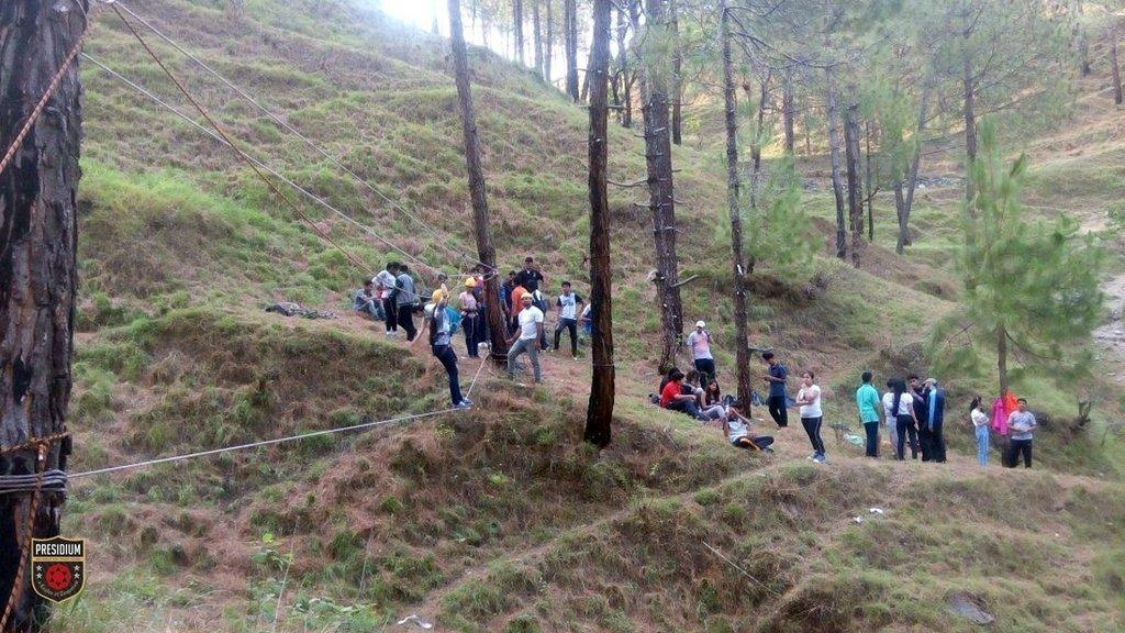 PRESIDIANS EXPLORE, DISCOVER & LEARN ON THE TREK TO NAGTIBBA
