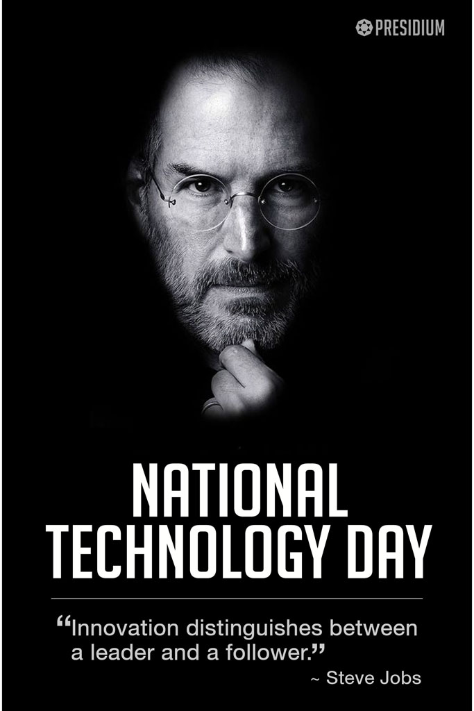 NATIONAL TECHNOLOGY DAY LETS REINVENT TOMORROW
