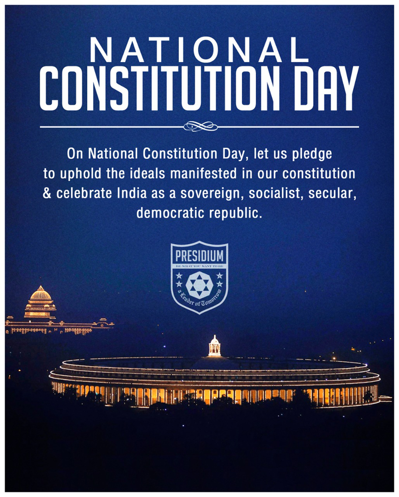 LET'S TOGETHER UPHOLD & ABIDE BY THE SPIRIT OF OUR CONSTITUTION