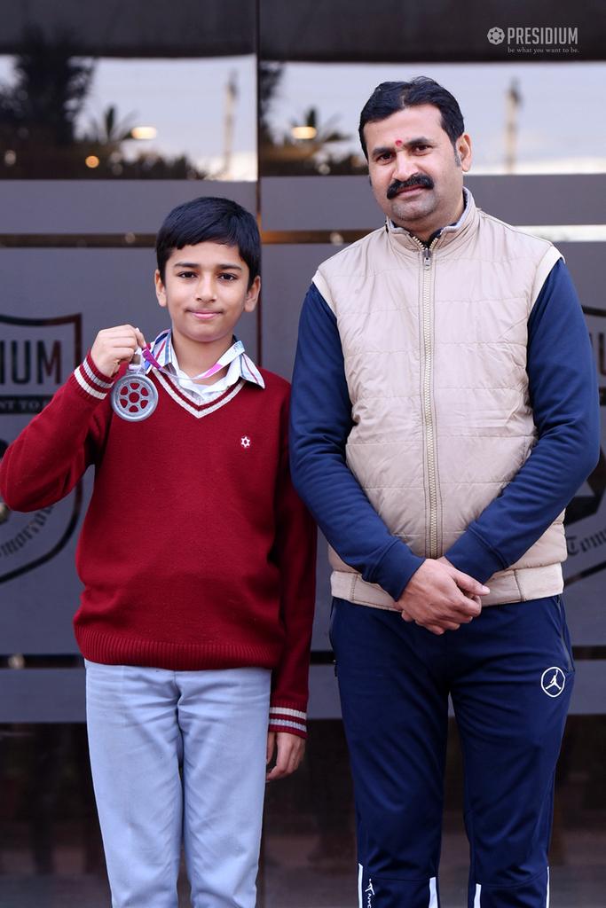 National Hockey Championship: Devansh Sharma bags a Silver Medal 2020