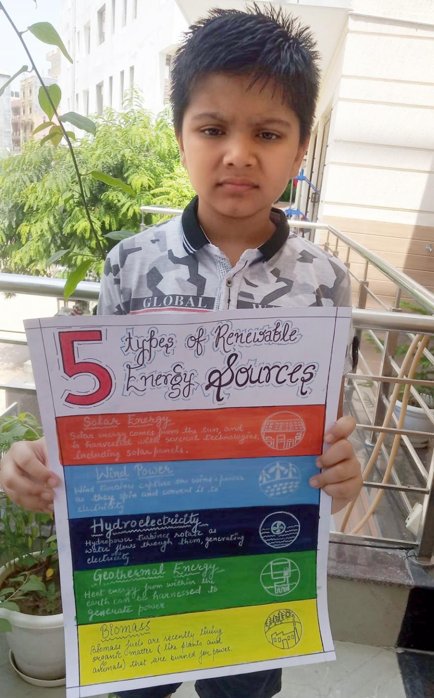 AKSHAY URJA DIWAS: PRESIDIANS JOIN HANDS TO CONSERVE ENERGY!
