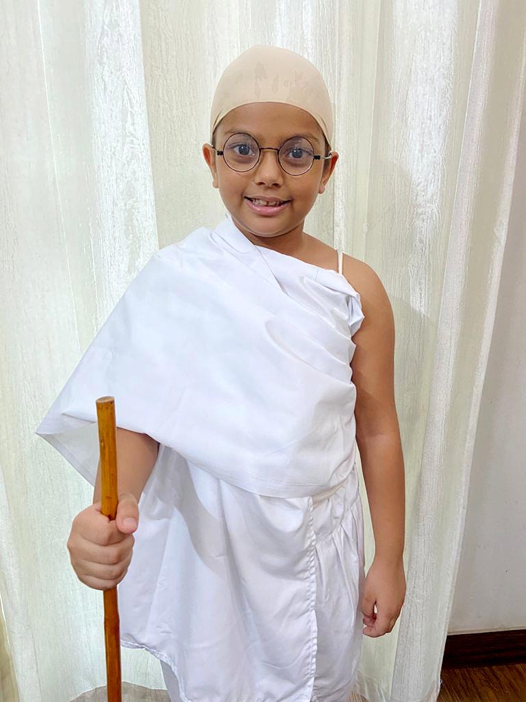 PRESIDIANS SPREAD THE TEACHINGS OF 'BAPU' ON GANDHI JAYANTI