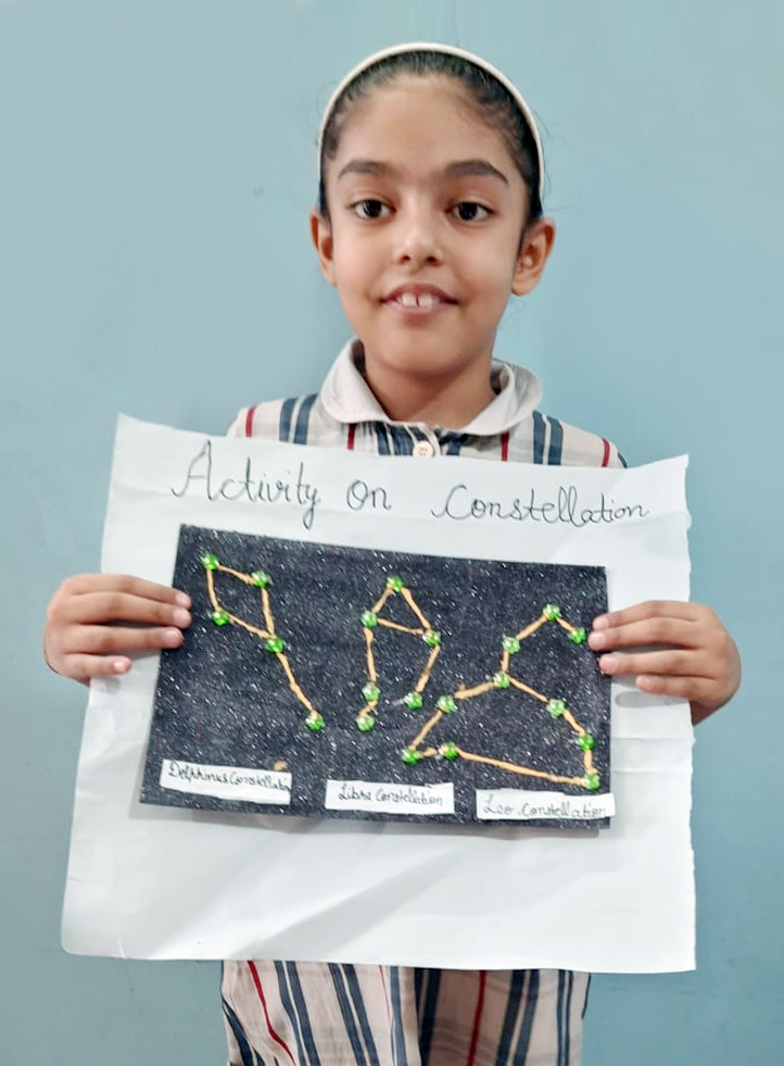 OUR BUDDING ASTRONOMERS ENHANCE THEIR KNOWLEDGE OF CONSTELLATIONS