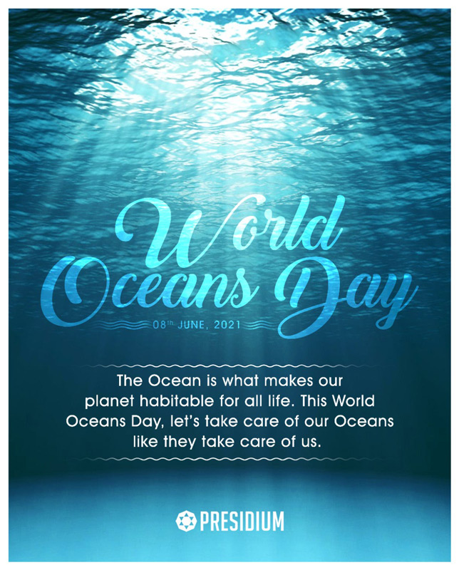 WORLD OCEANS DAY: LET'S DO OUR BIT IN PROTECTING OUR OCEANS!