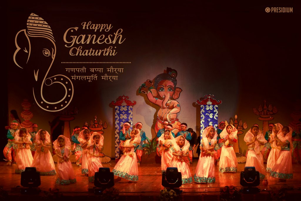 PRESIDIUM WISHES ALL A BLISSFUL GANESH CHATURTHI