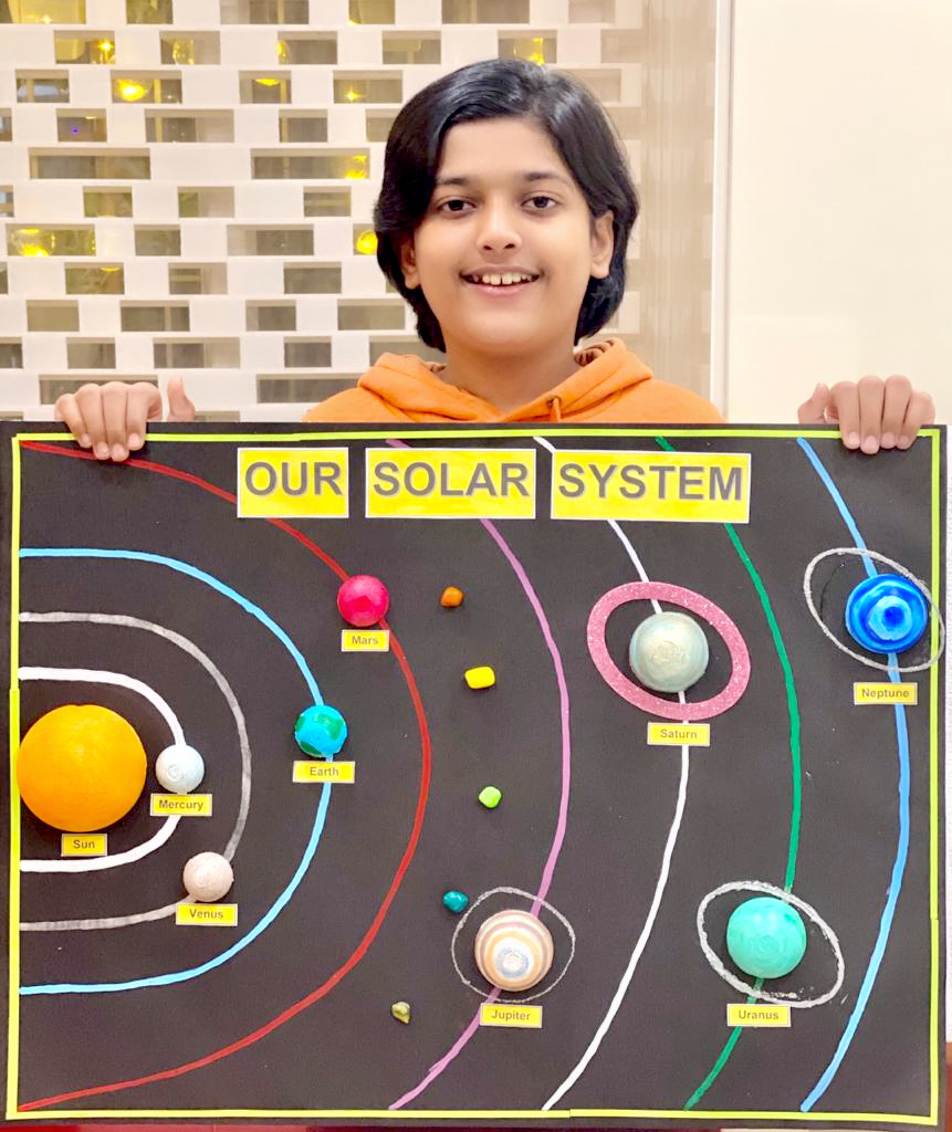 SOLAR SYSTEM ACTIVITY:STUDENTS DELVE INTO THE WORLD OF ASTRONOMY