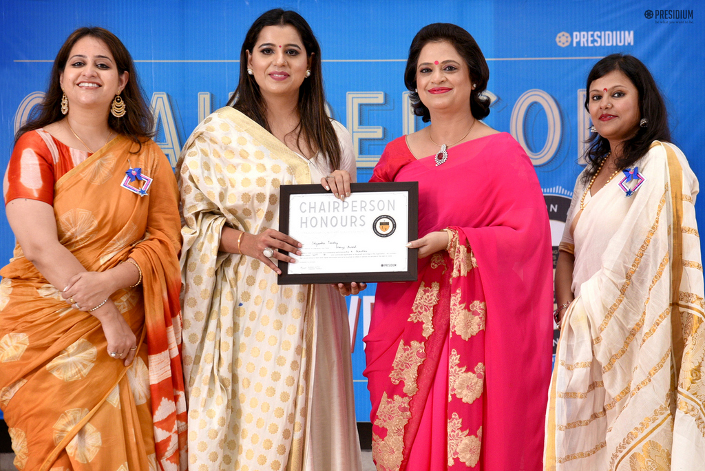 GLORIFYING THE ROLE OF TEACHERS: CHAIRPERSON HONOURS FOR TEACHERS