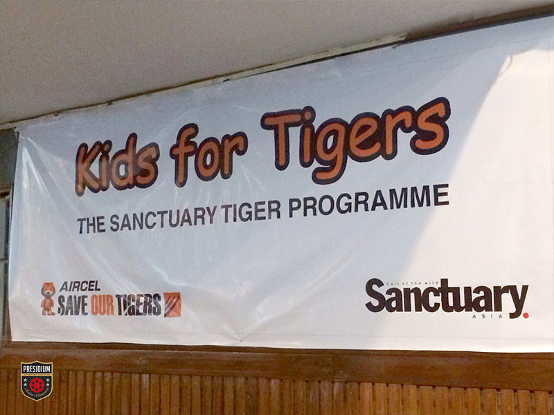 PRESIDIANS ATTEND SAVE TIGER SEMINAR ON GLOBAL TIGERS DAY