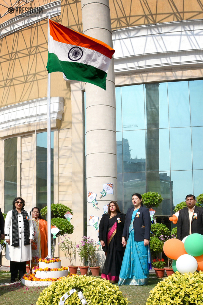 PRESIDIANS CELEBRATE THE UNITY OF INDIA ON REPUBLIC DAY
