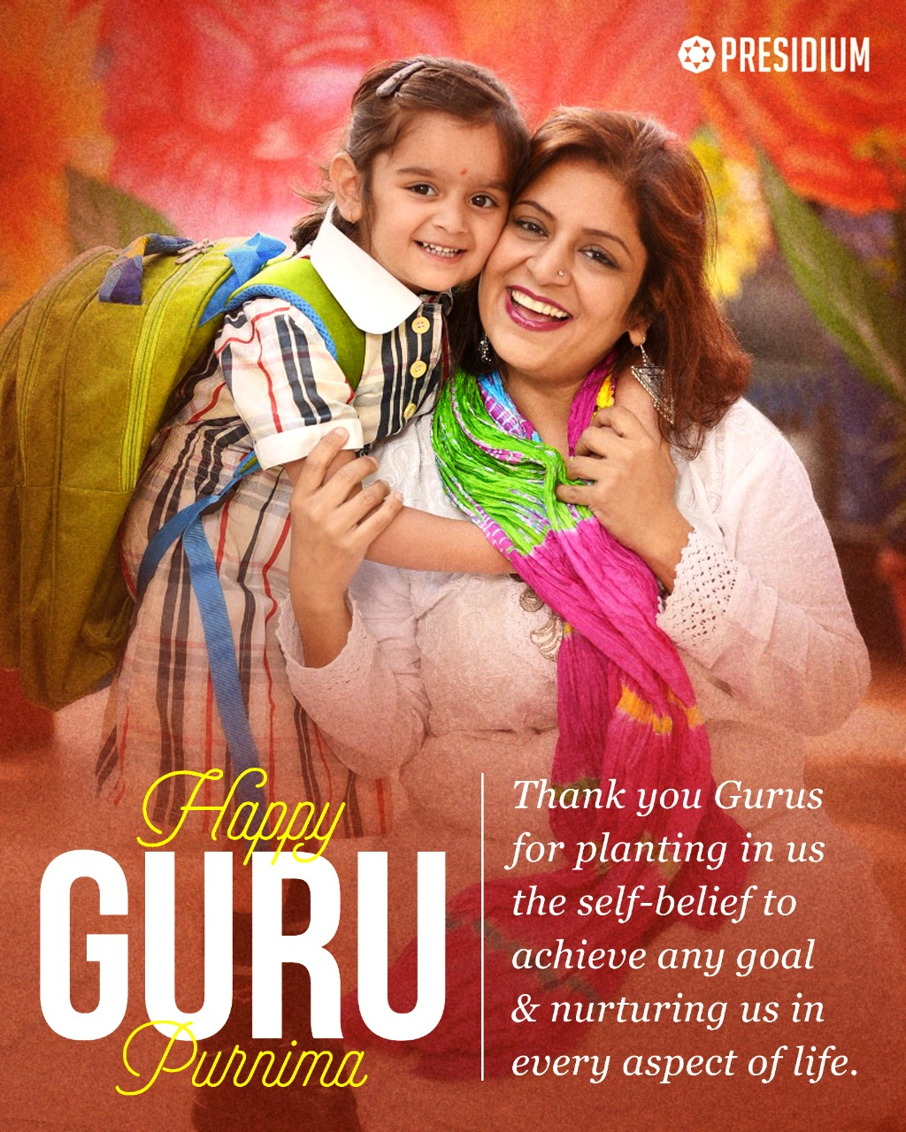 GURU PURNIMA: MAY GURU'S BLESSINGS SHOWER ON YOU, ALWAYS!