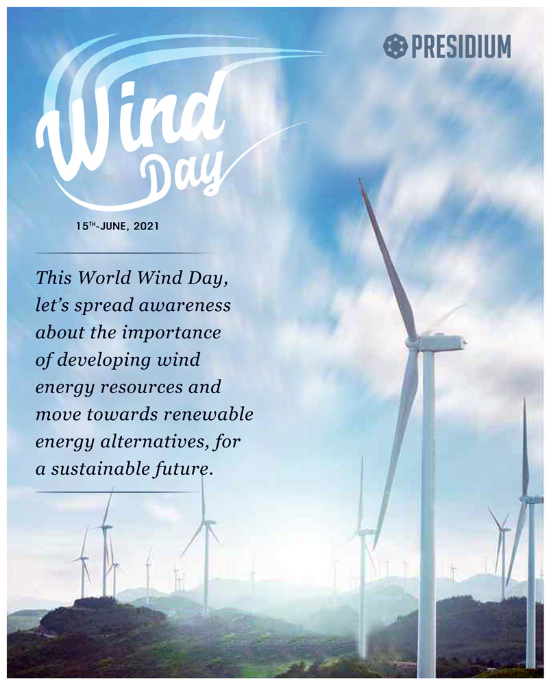 WORLD WIND DAY: LET'S SWITCH TO RENEWABLE ENERGY ALTERNATIVES!