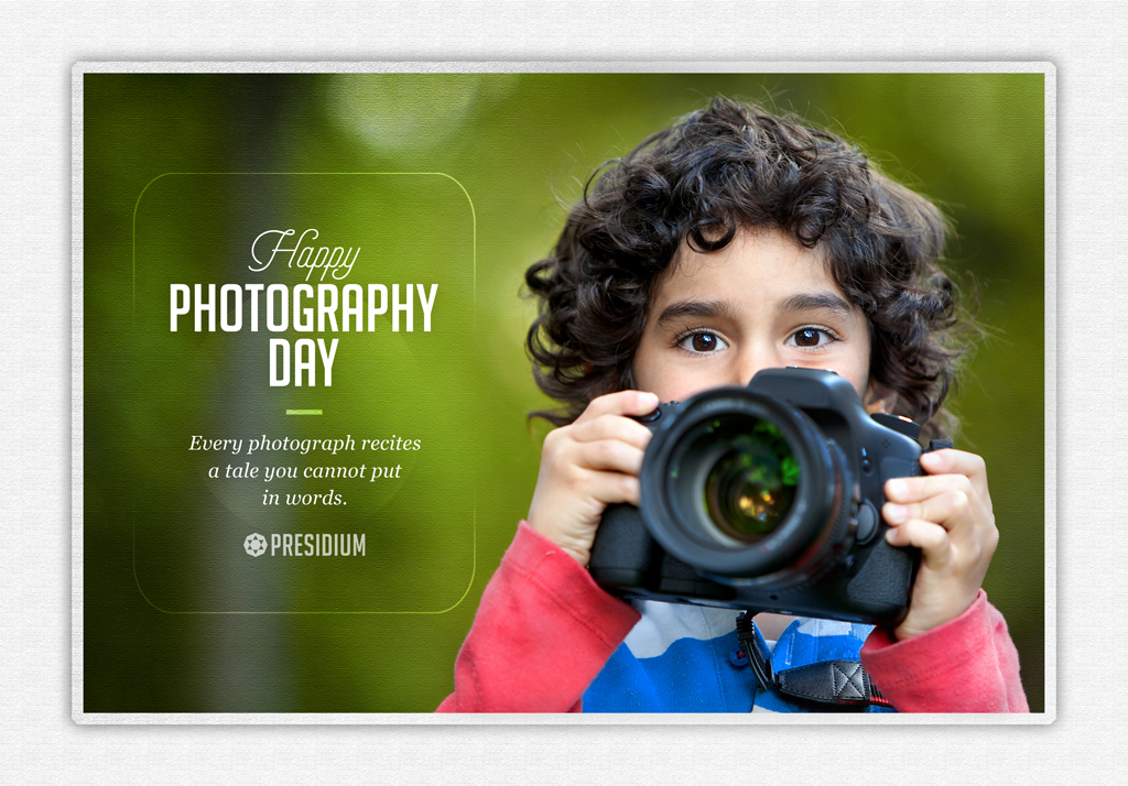 WORLD PHOTOGRAPHY DAY: CELEBRATING CAPTURED MOMENTS OF JOY!