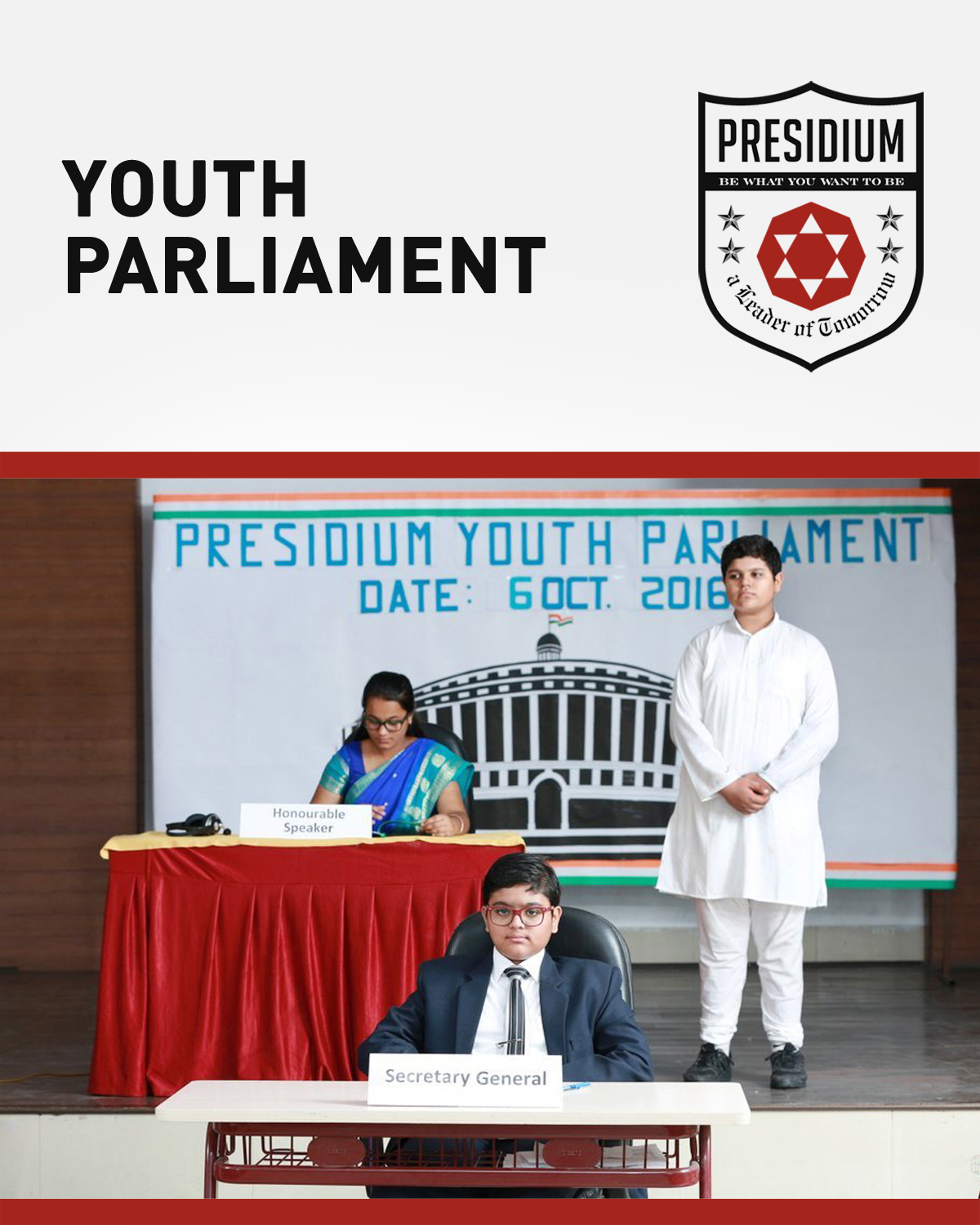 YOUTH PARLIAMENT: AN EDUCATIONAL SIMULATION FOR SENIOR PRESIDIANS