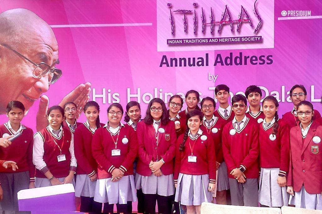 Presidium School ANNUAL ADDRESS