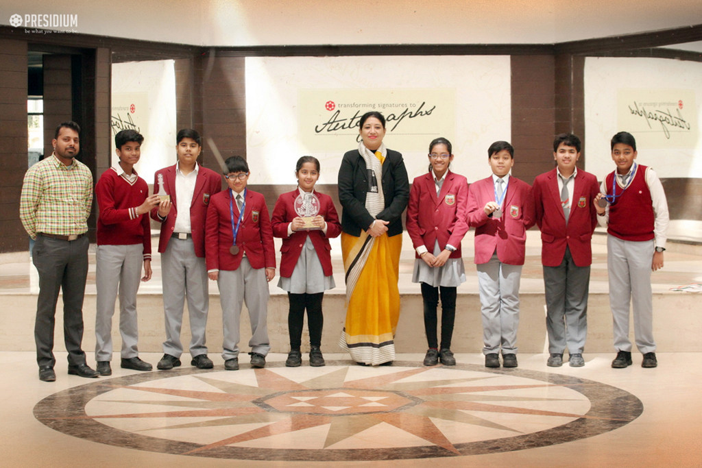 PRESIDIANS ADD ANOTHER FEATHER TO THE GLORY AT CBSE CHESS ZONALS
